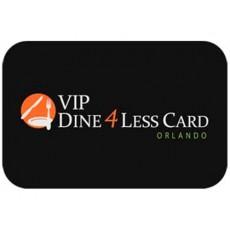 Cartão VIP Dine 4Less em Orlando